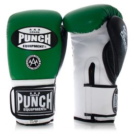 Green Boxing Gloves Trophy Getters