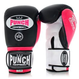Pink Boxing Gloves Black Trophy Getters