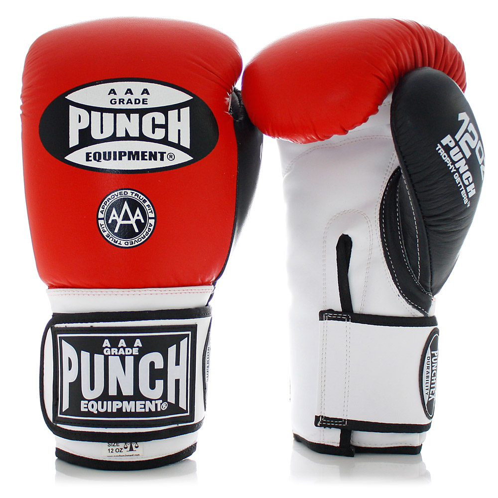 Red Boxing Gloves Trophy Getters