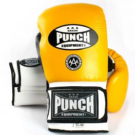 Yellow Boxing Gloves Punch Trophy Getters
