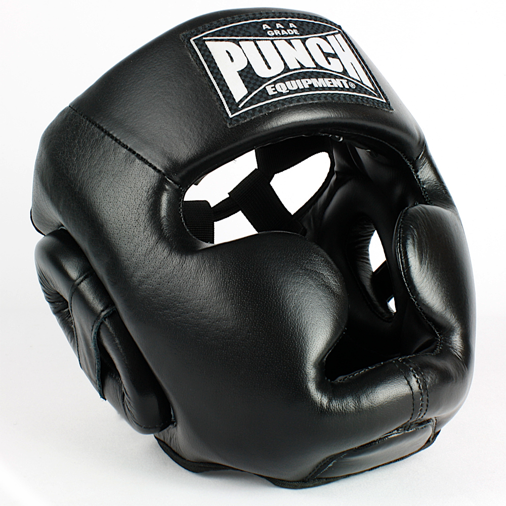 Trophy Getters Full Face Boxing Headgear Black 2020 2