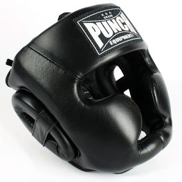 Trophy Getters Full Face Boxing Headgear Black 2020
