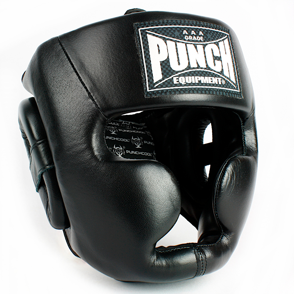 Trophy Getters Full Face Boxing Headgear Black 2020 3