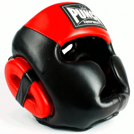 Trophy Getters Full Face Boxing Headgear Red 3