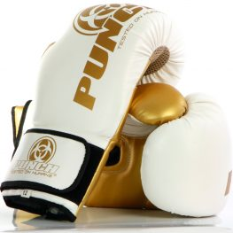 Urban Boxing Gloves White Gold 1 2020