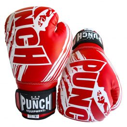 6oz Red Boxing Gloves