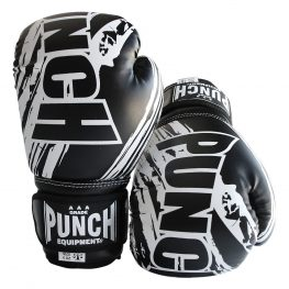 6oz Black Boxing Gloves