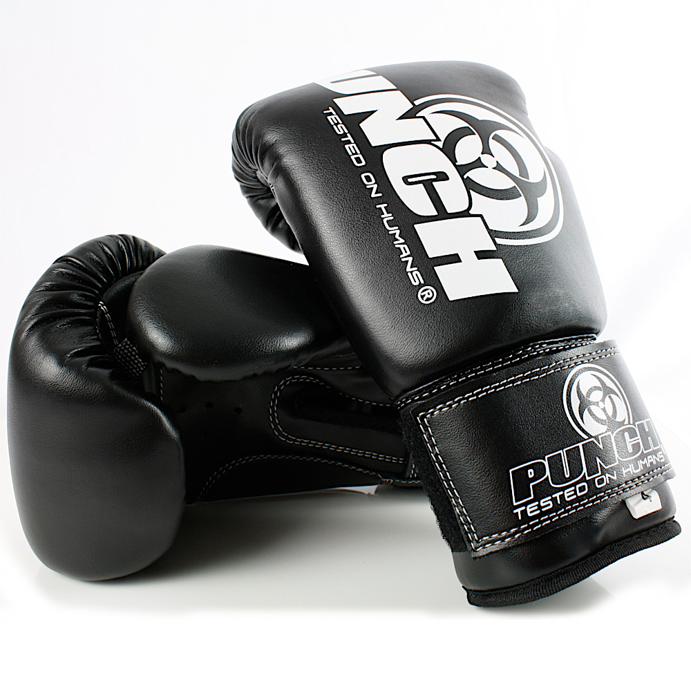 4oz Kids Boxing Gloves Black 3