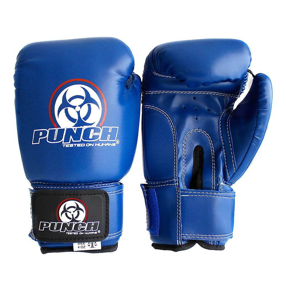 Punch Boxing Gloves Blue 4oz