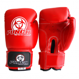 Punch Boxing Gloves Red 4oz1