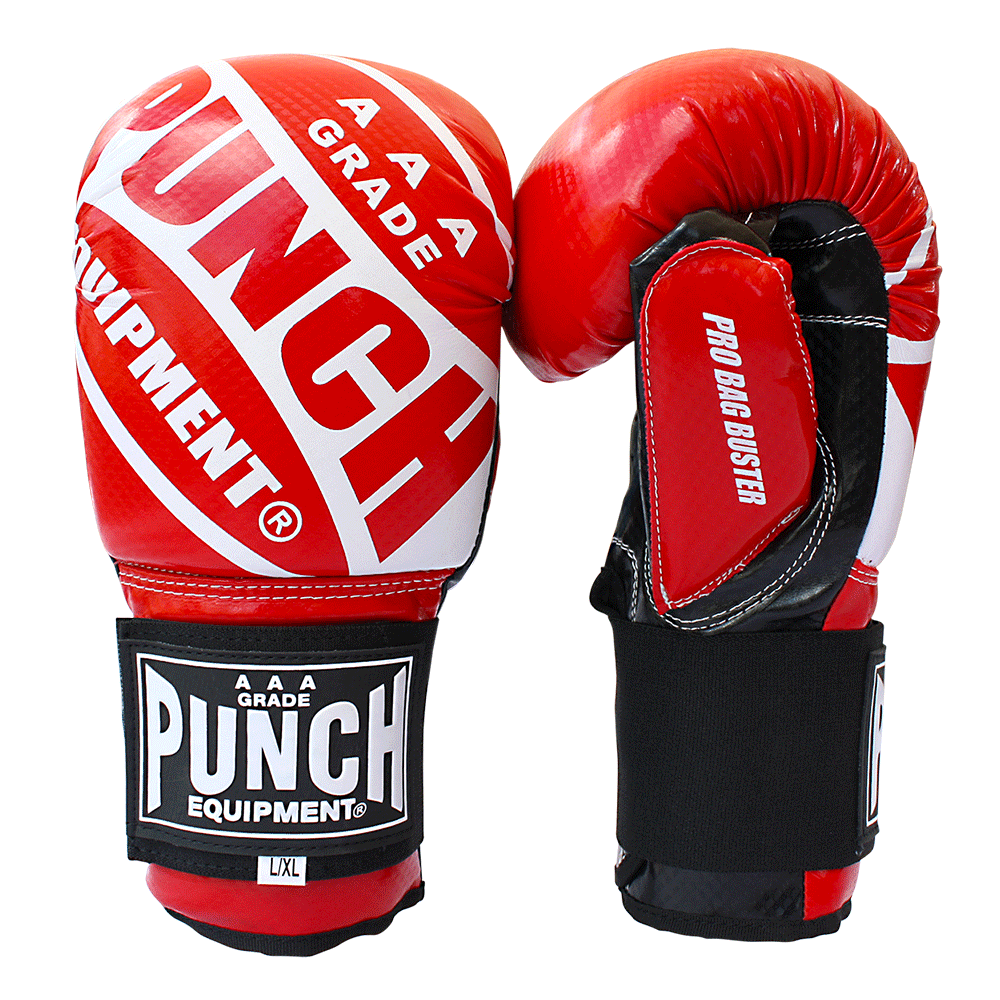 Punch Pro Bag Busters Red