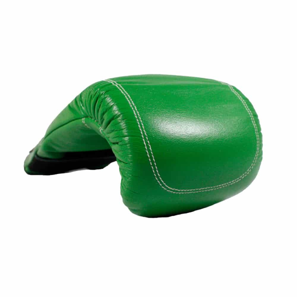 Mexican Boxing Bag Mitts Green Front