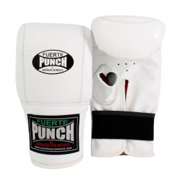 Mexican Boxing Bag Mitts White
