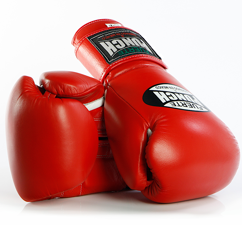 Red Punch Mexican Boxing Gloves 2 2020