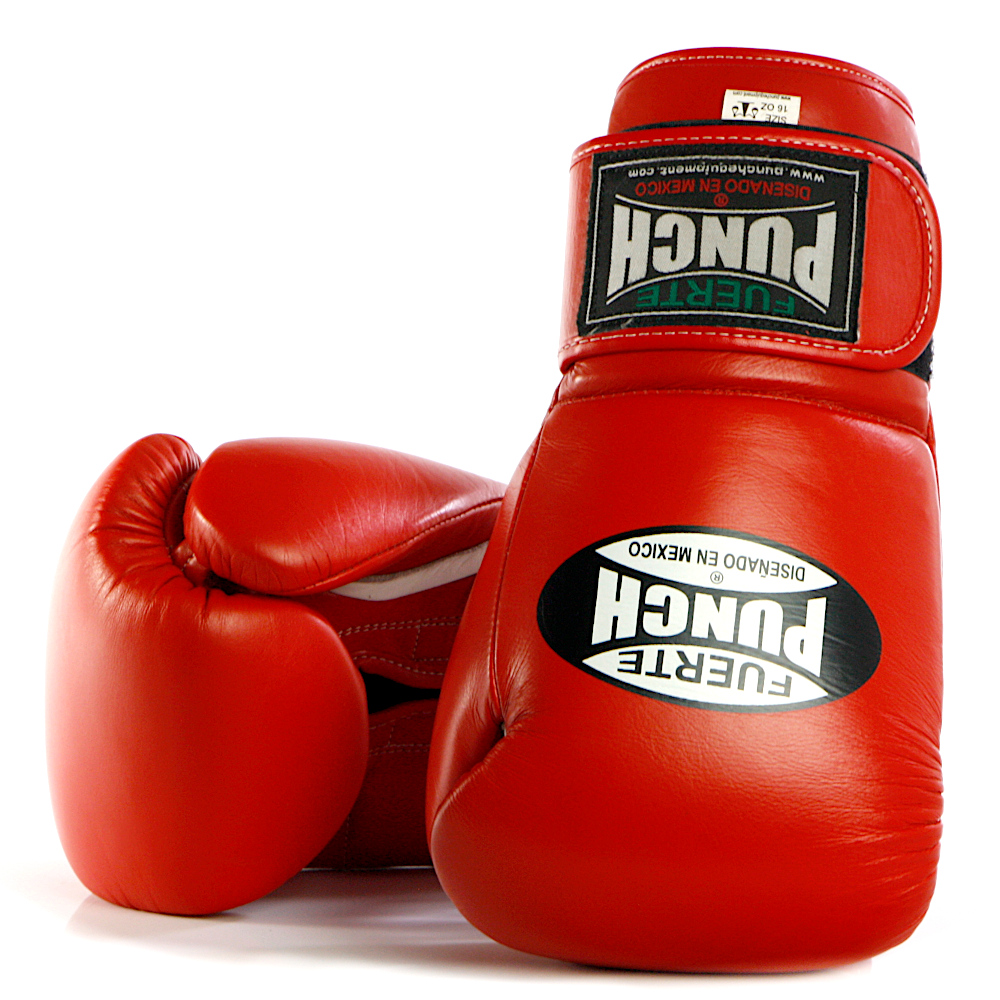 Red Punch Mexican Boxing Gloves 3 2020