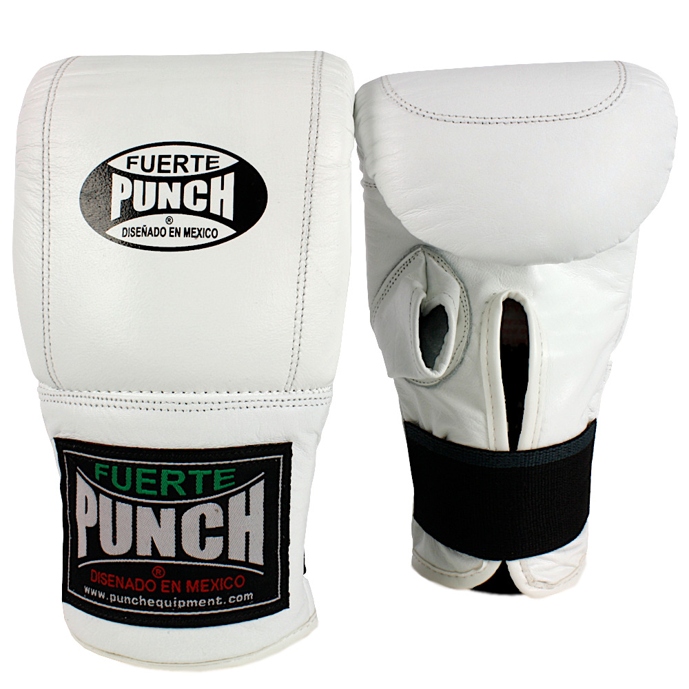 Mexican bag mitts white 2