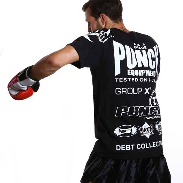 T Shirt Black Punch
