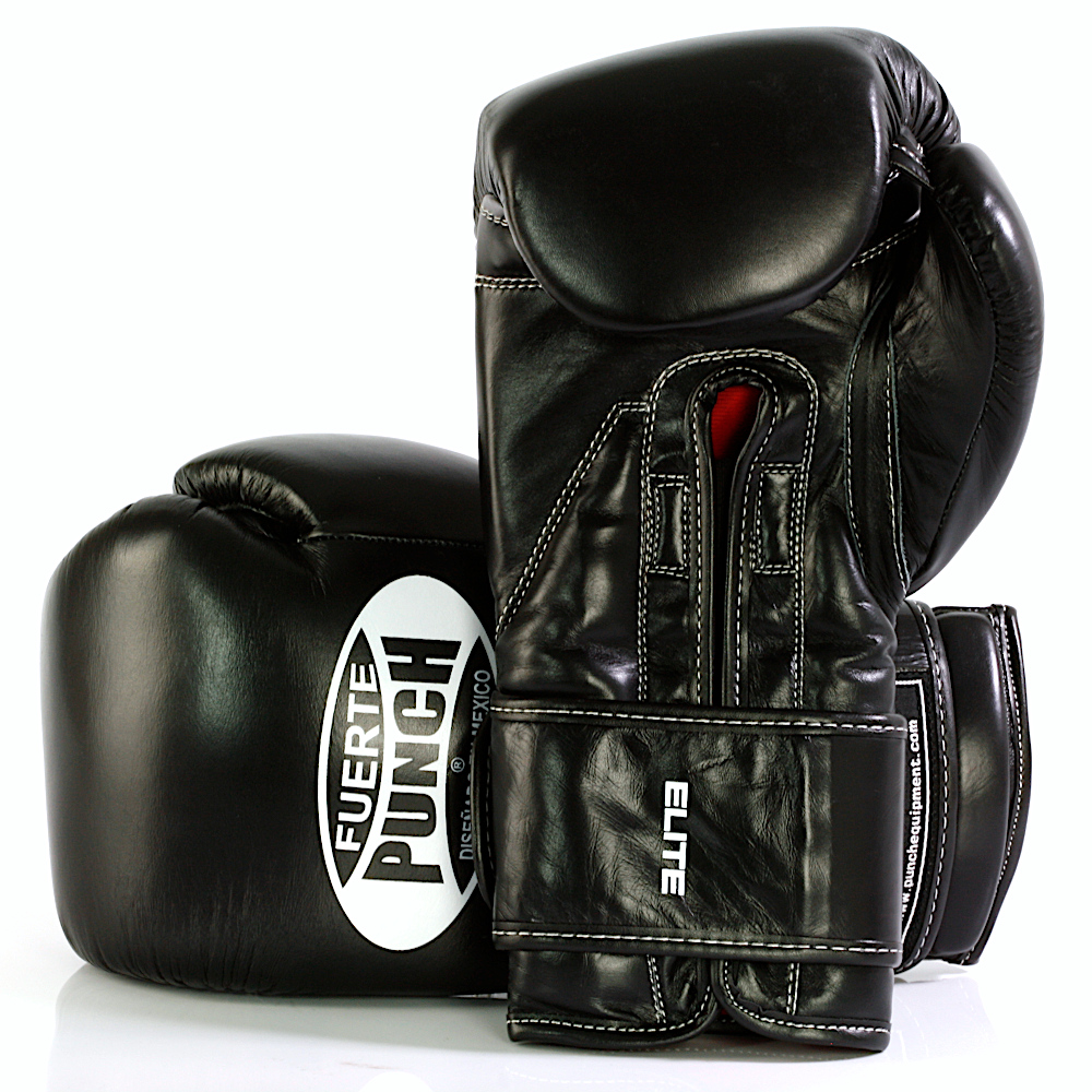 Mexican Fuerte Boxing Gloves 2 Black 2020