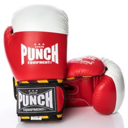 Punch Red Armadillo Boxing Glove