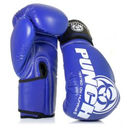 Blue Punch Urban Boxing Gloves1