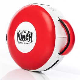 Punch Red Round Shield