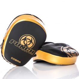 Punch Cobra Pad Black Gold