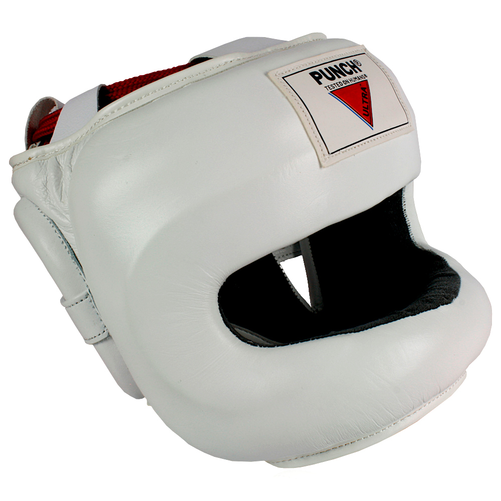 Ultra Nose Protector Head Gear White 2