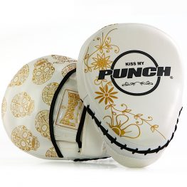 Womens Focus Pads White Gold Skull 1 2020