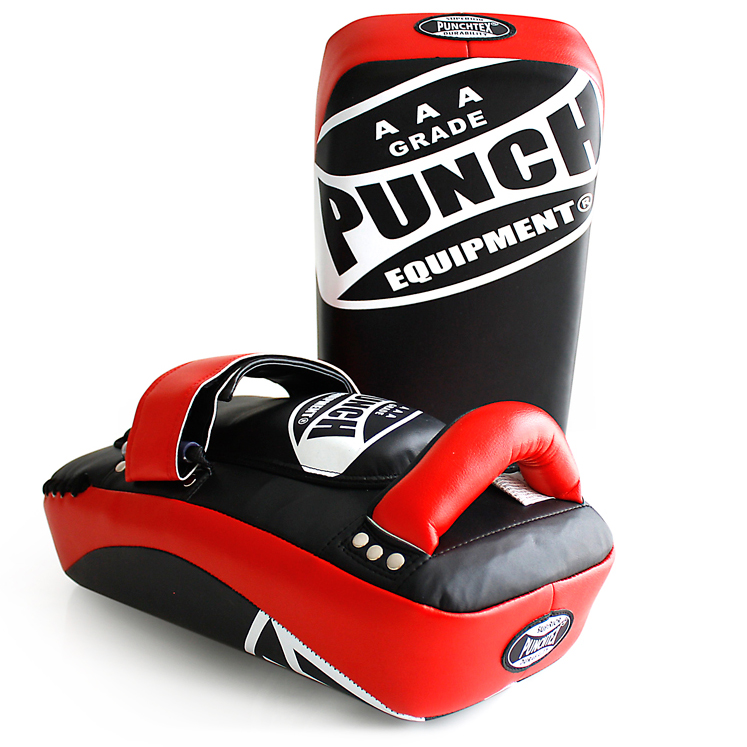 Aaa Curved Thai Pads Red 1
