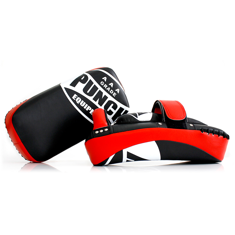 Aaa Curved Thai Pads Red 2