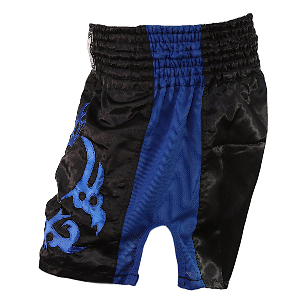 Blue Tested On Humans Muay Thai Shorts 2